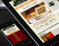 Divine Wine & Spirits Website