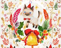 Christmas,Winter pattern design