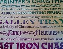 A Printer's Christmas
