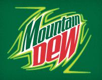 Mountam Dew sticker