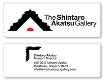 Shintaro Akatsu Gallery | Logo & Business Card Design