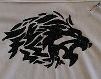 Lion Tattoo 3D Paint