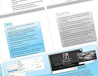 Social Media Guide | Brochure Design