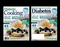 Diabetes Self-Management & Diabetic Cooking Covers