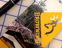 Browning Backpack Hangtags