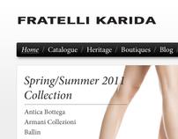 Fratelli Karida e-shop