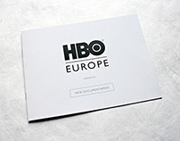 HBO Europe | New documentaries leaflet