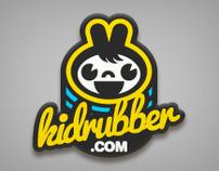 kidrubber Logo design