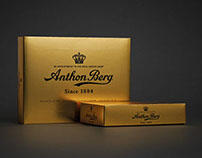 Anthon Berg - The Gold Box - Packaging design