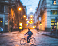 Blurred Milan
