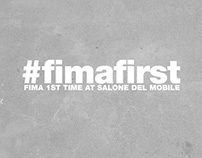 #FIMAFIRST | Fima's first Salone del Mobile