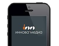 Mobile version of Innova-media web-site