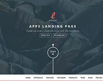 Lotek — Modern App Landing Page WP Theme