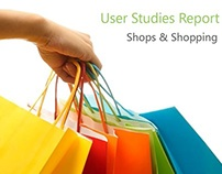User Studies report: Shops and Shopping