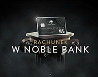 Noble Bank - landing page