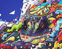 Red Bull F1 Racing Artwork