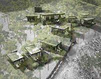 Визуализация усадебного комплекса в Геленджике (2014)