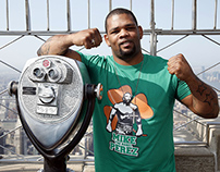 Mike Perez HBO Boxing - Tshirt Design