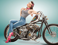 Delicious Pin-Up 2014 by Eicma Custom