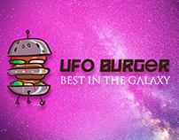 UFO Burger - Logo For Sale