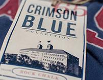 University of Kansas - Crimson & Blue Apparel Tags