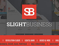 SLIGHT - Unique WordPress Theme