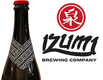 Izumi Brewing Company Beer Package Design