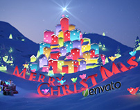 Christmas Night Logo Animation