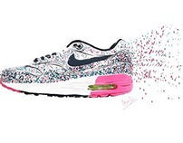 Nike AIRMAX - Drawing2