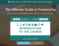 Freelance Jumpstart Course Relaunch