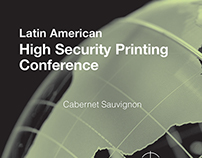 Etiqueta Vino High Security Printing Conference