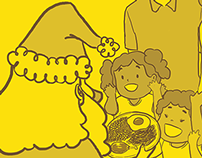 Cartaz de campanha interna do Banco do Brasil no Ceará