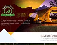 Landing page Salgamos de Camping