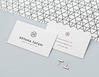 Aryana Tatum Jewelry / Identity Design