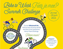 Bike to Work Summer Challenge 2015