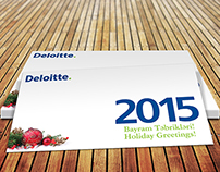 Postcard for Deloitte.