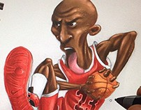 Illustration - Michael Jordan