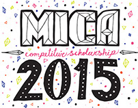 MICA Competitive Scholarship 2015