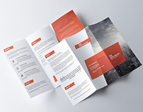 Clean Corporate Tri Fold Brochure