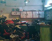 Garage Honda CBR-600 RR