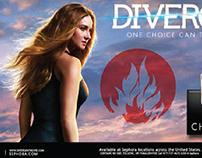 Divergent & Sephora: Co-Branding Campaign