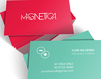 Magnetica - Projeto de Identidade Visual