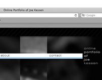 Self Promotion: Online Portfolio, 2009 - 2012