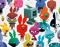The League of Super Rabbits Reunion