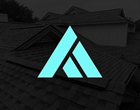 Vertex Roofing Brand Identity