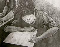 Gravura sobre Gravura - Printmaking on Printmaking