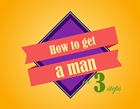 How to get a man in 3 steps