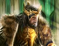 King Under The Mountain - Fanart Speedpaint