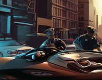 Batman in a jam