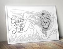 Green Grass Made the Lion